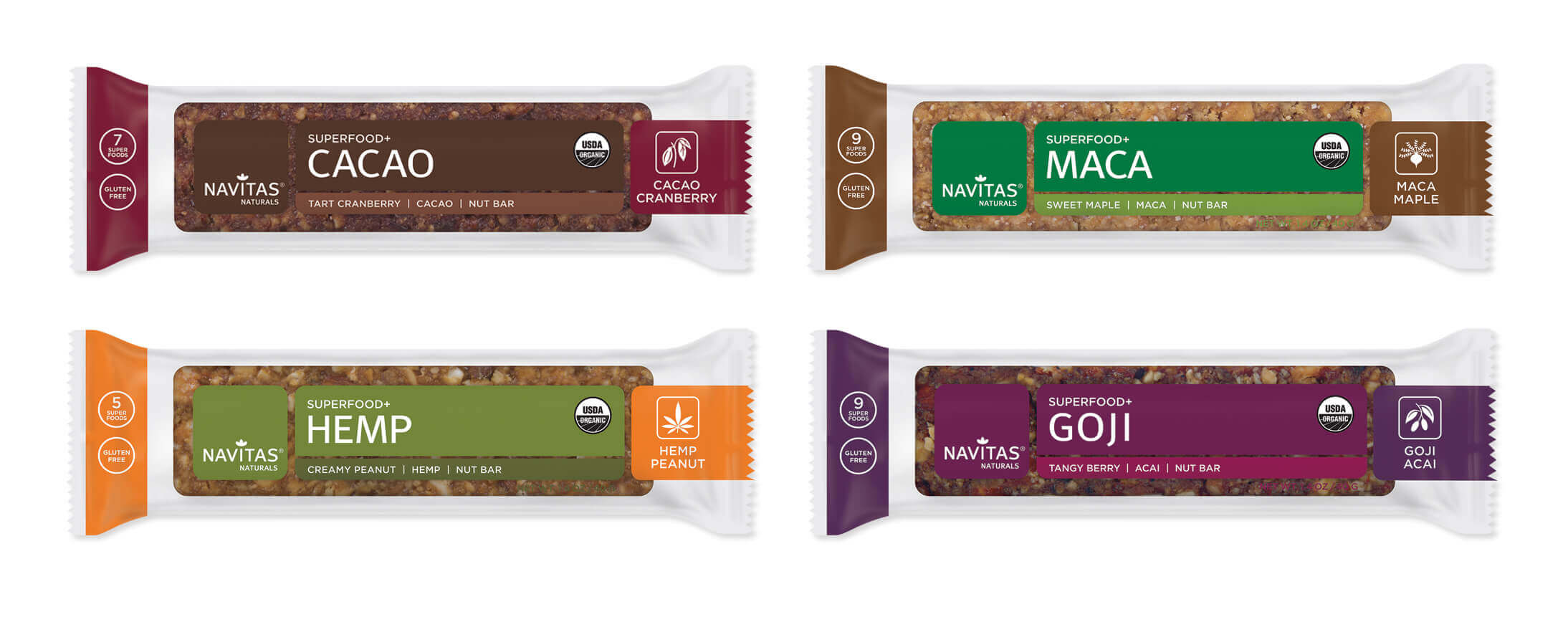 Navitas Organics Superfood+ Snack Bars