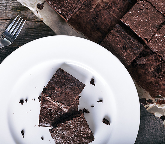 Mexican Cacao Brownies