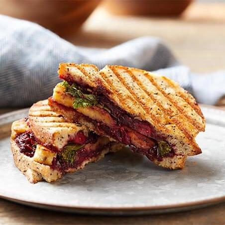 Tempeh & Cranberry Superfood Panini