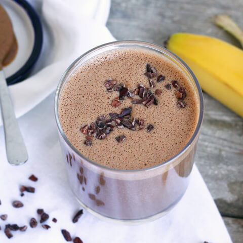 Chocolate Almond Butter Bliss Smoothie