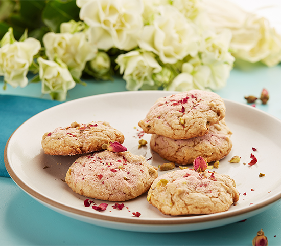 Rose Tea Cookies