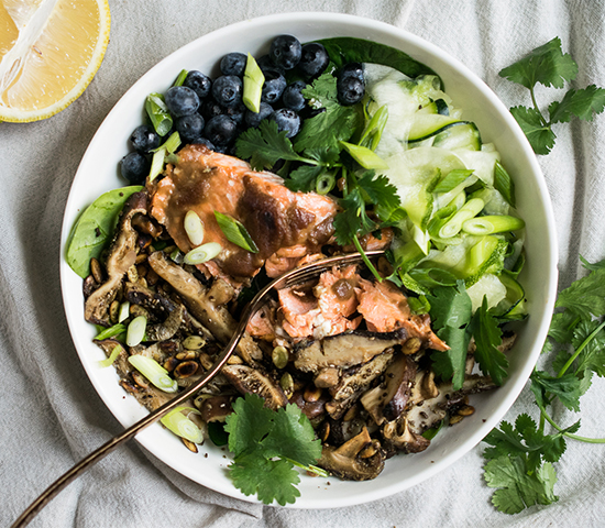 Superfood Salmon Bowl