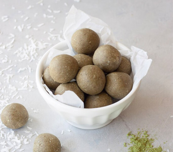 You've Met Your Matcha Balls