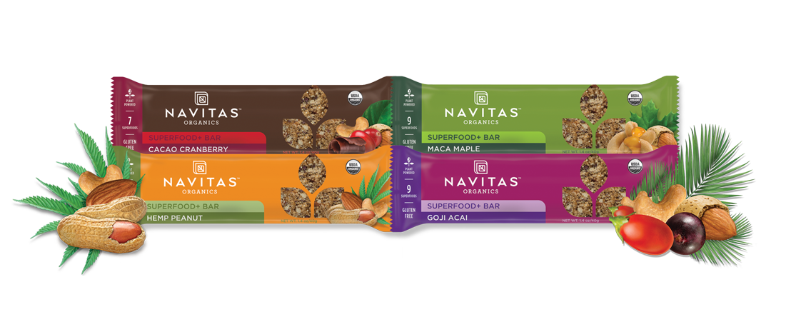 Navitas Organics Superfood+ Bars