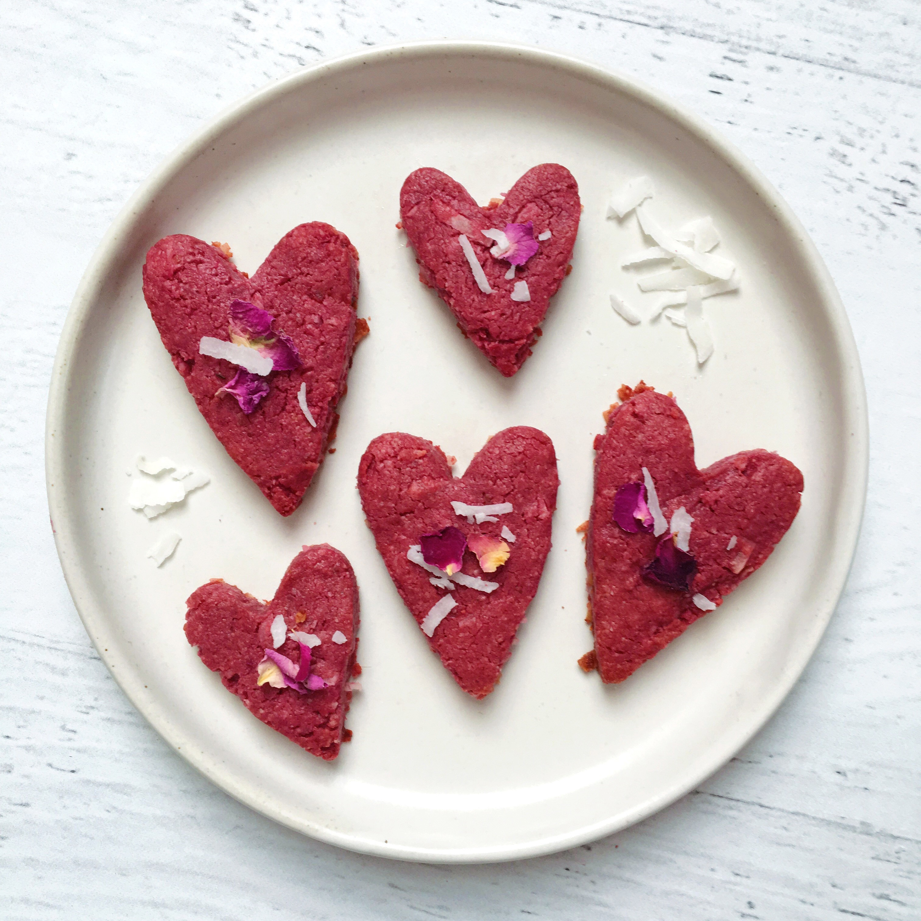 Beet Coconut Sugar Cookies