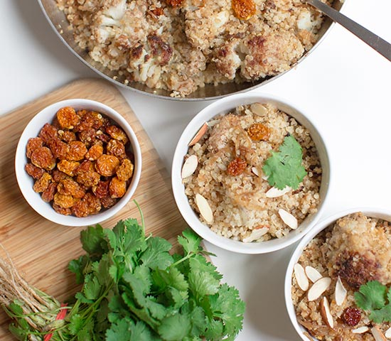 Goldenberry Quinoa Bowl