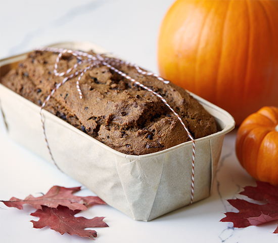 Chocolate Chai Pumpkin Bread