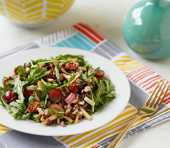 Summer Fruit Wild Rice Salad