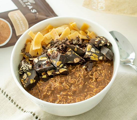 Nutty Chocolate Oats