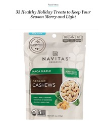 33 Healthy Holiday Treats
