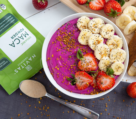 Pitaya Maca Smoothie Bowl