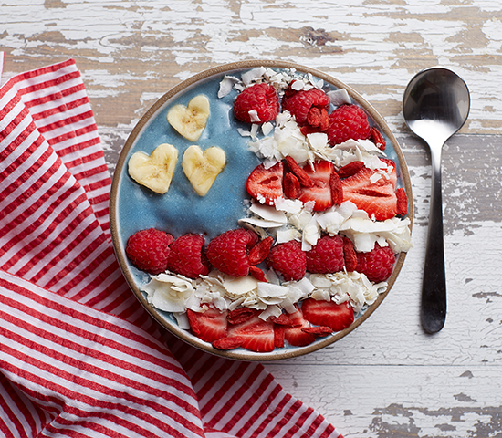 Red, White & Smoothie Bowl