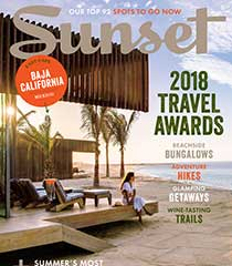 Sunset Magazine 2018 Travel Awards