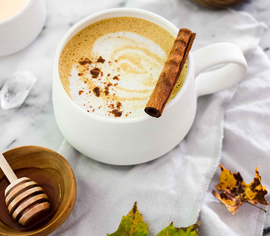 Superfood Pumpkin Spice Latte